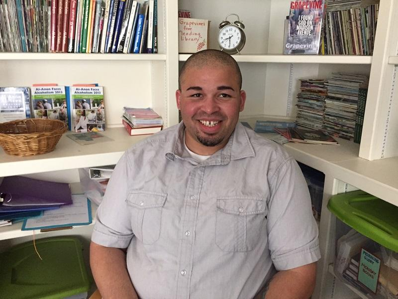 Wayne Miller originally enrolled in the CCV to use the financial aid money to subsidize his drug habit. On Saturday, he'll graduate with an associate's degree; he is now a substance abuse counselor at Wilder's Turning Point Center.