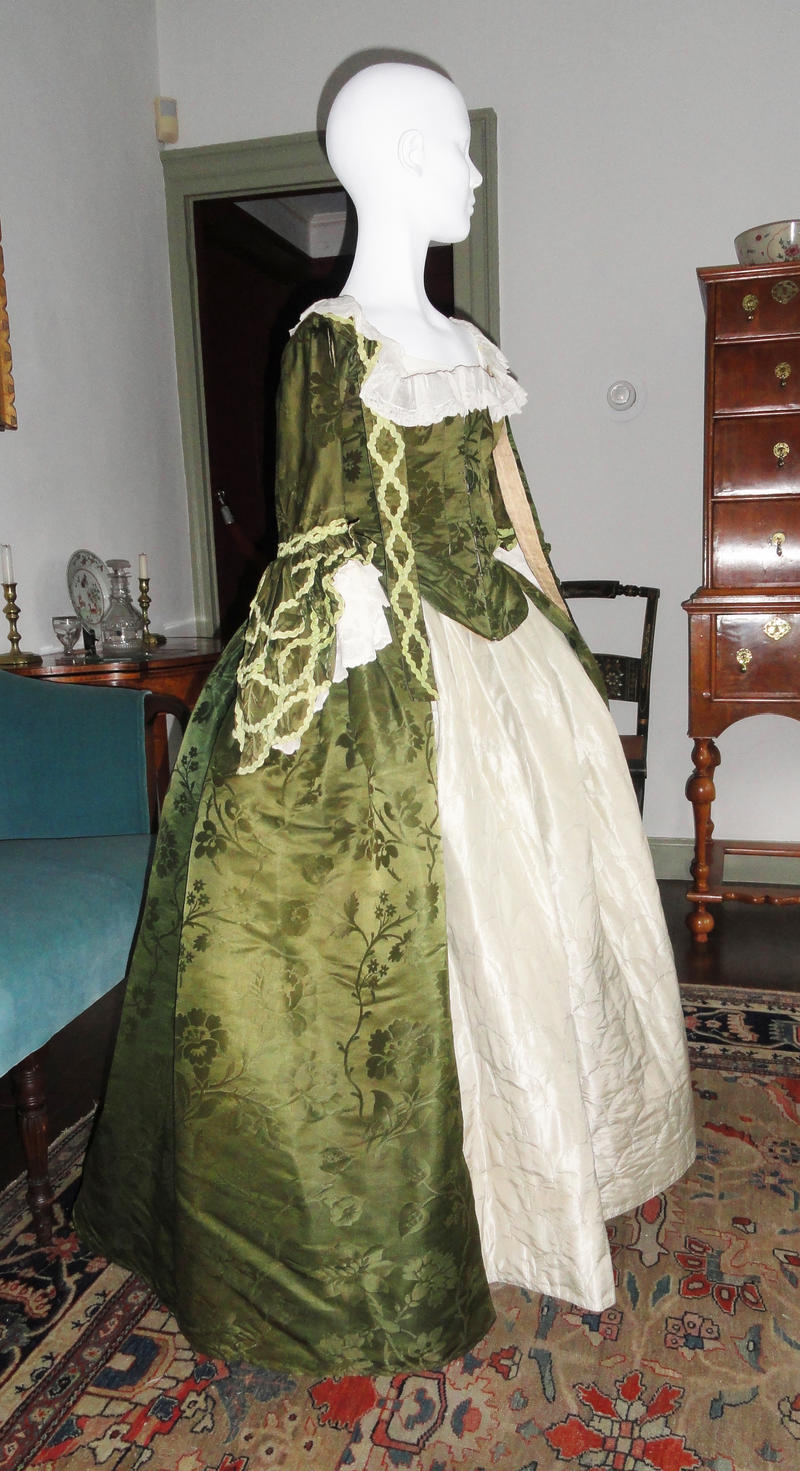 Bittinger historic wedding dresses vermont public radio for Period style wedding dresses