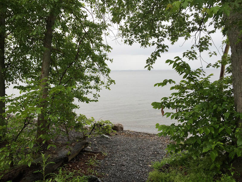 The reason for the island's popularity is that campers can book isolated, waterfront camp sites with stunning views of Lake Champlain.