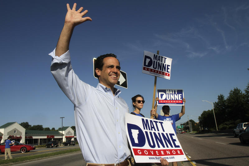 Matt Dunne, seen here campaigning in his 2010 gubernatorial run, has already raised more than $100,000 toward a potential 2016 run for governor.