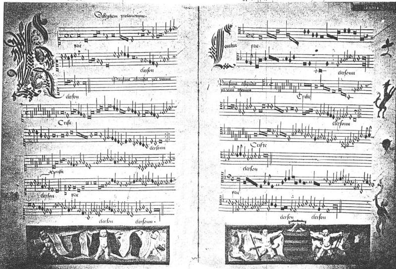 "The ""Prolongation Mass"" of Franco-Flemish composer Johannes Ockeghem is considered to be one of the most extraordinary achievements in polyphony in the 15th century."