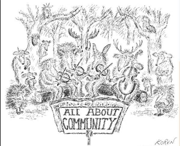 One of Ed Koren's drawings for the CVCMF.