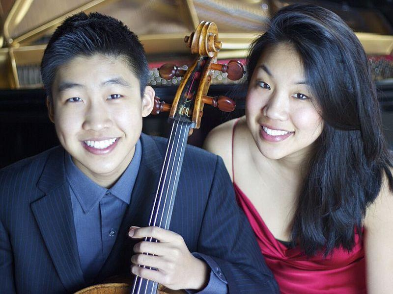Cellist Bryan Cheng and pianist Silvie Cheng visit VPR on Friday.