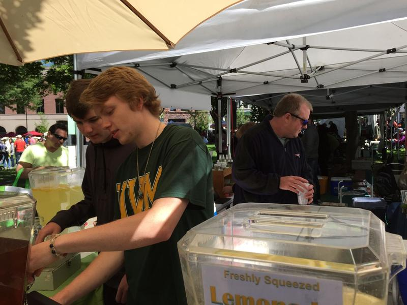 Sons Ben and Noah work for their parents at Burlington's Farmers Market to help make ends meet. Despite Pat Keogh and Cathleen Branon-Keogh's best efforts, they found themselves struggling to get by. But things have improved for them in recent years.