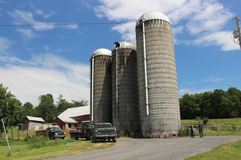 Bill and Rachel Orr run a family dairy farm with about 130 cows in Orwell. About half the manure produced in Vermont comes from small farms, which are now facing new rules for reducing manure and nutrient runoff.