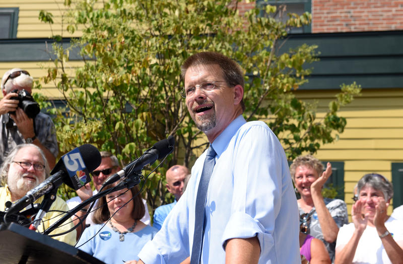 House Speaker Shap Smith announced his candidacy for Governor on August 19th in Morrisville.