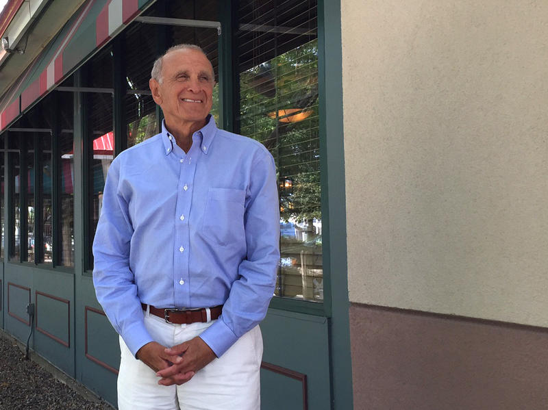 """Bruce Lisman, shown here in 2015, is a Republication gubernatorial candidate. We've compiled his responses from his June 24 """"Vermont Edition"""" interview on four particular topics: gun control, taxes, marijuana and health care."""