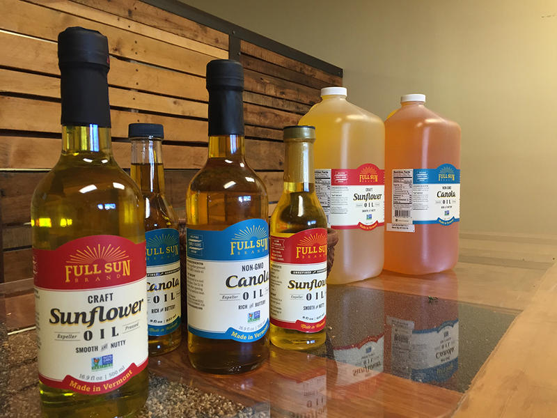 Full Sun's oils will soon be on store shelves in Vermont.