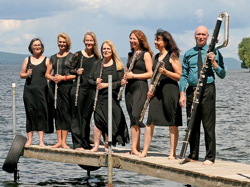 Vermont Virtuosi's ensemble of 7 flutists plays live on VPR Classical Friday at noon.