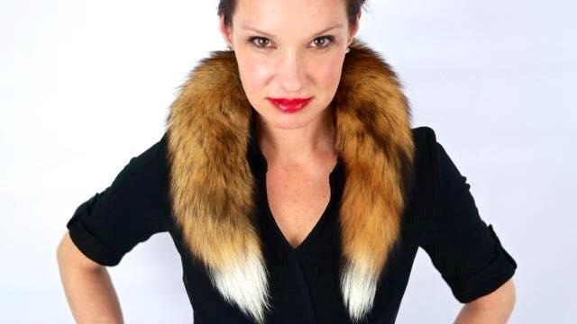 "Pamela Paquin makes what she calls ""accidental fur"" - muffs, wraps, scarves, and more - all sourced from roadkill."