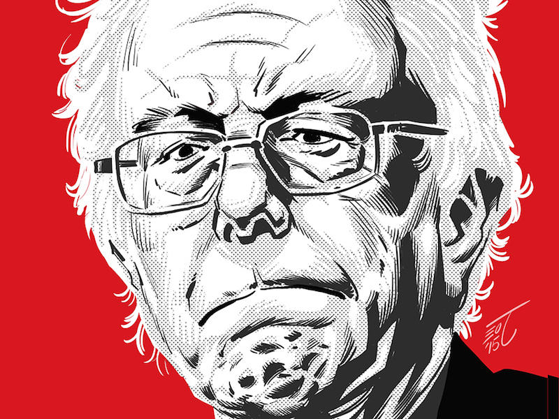StormFront Publishing has published a new comic book that tackles the life of Sen. Bernie Sanders as part of a larger series of biographical comics about major figures in American politics.
