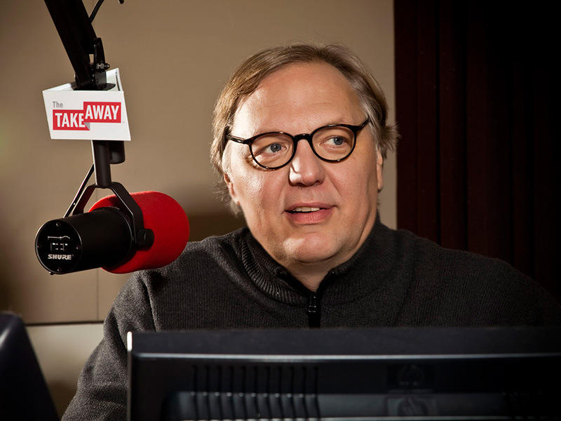 John Hockenberry, host of The Takeaway