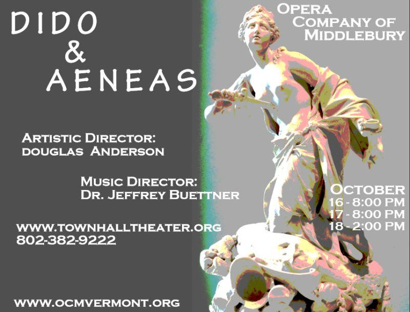 OCM's poster for 'Dido and Aeneas.'