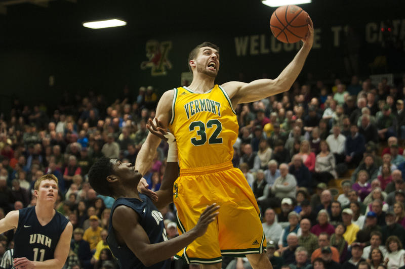 UVM senior all-conference forward Ethan O'Day is a bright point on UVM's offense.