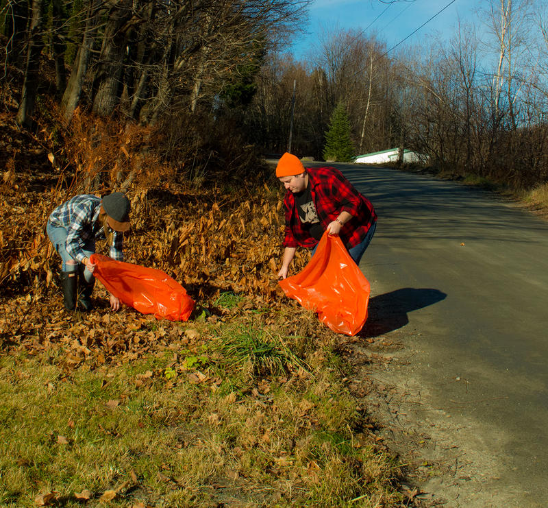Orange Up Day, a fall hunting season themed version of Green Up Day, is being held in Cambridge on Sunday.