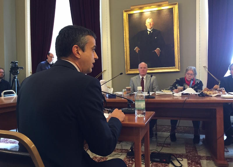 Bill Lofy, former chief of staff for Gov. Peter Shumlin, is working with a group called the Vermont Cannabis Collaborative on a plan to legalize marijuana in Vermont. At a Statehouse hearing on Tuesday, he urged lawmakers to adopt a tiered system that wou