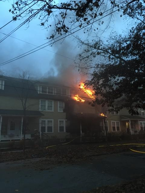 More than 40 people were evacuated from an affordable housing apartment in Brattleboro Saturday.