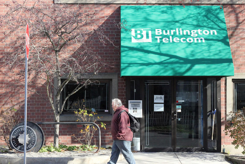 The Burlington Telecom building. The City of Burlington hopes to have a buyer for Burlington Telecom lined up by the fall. The City Council will vote to eliminate one of three bids from the sale process.