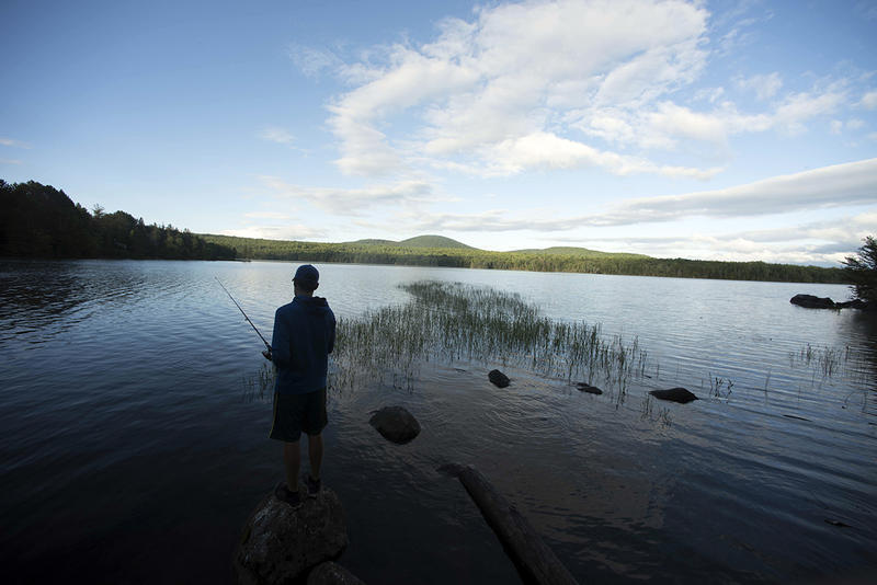 Molly's Falls Pond has long been a popular Central Vermont fishing spot. Now it is also a state park.