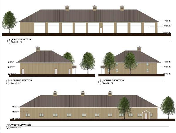 Voters in St. Albans rejected a plan to build a new municipal works building and salt shed, shown in these architectural plans.