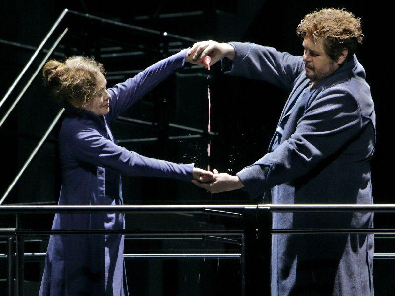 From Bayreuth Festival 2015's opening performance of 'Tristan and Isolde.'