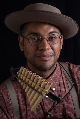 Musician Dom Flemons performs this weekend at the Chandler Center in Randolph.