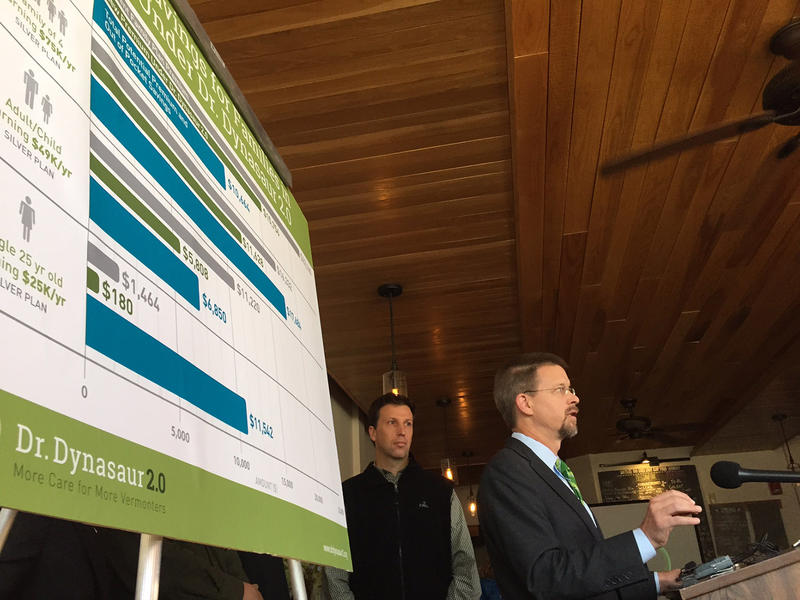 House Speaker Shap Smith is calling for a study of a proposal that would provide publicly-funded health insurance to every Vermonter age 26 and younger.