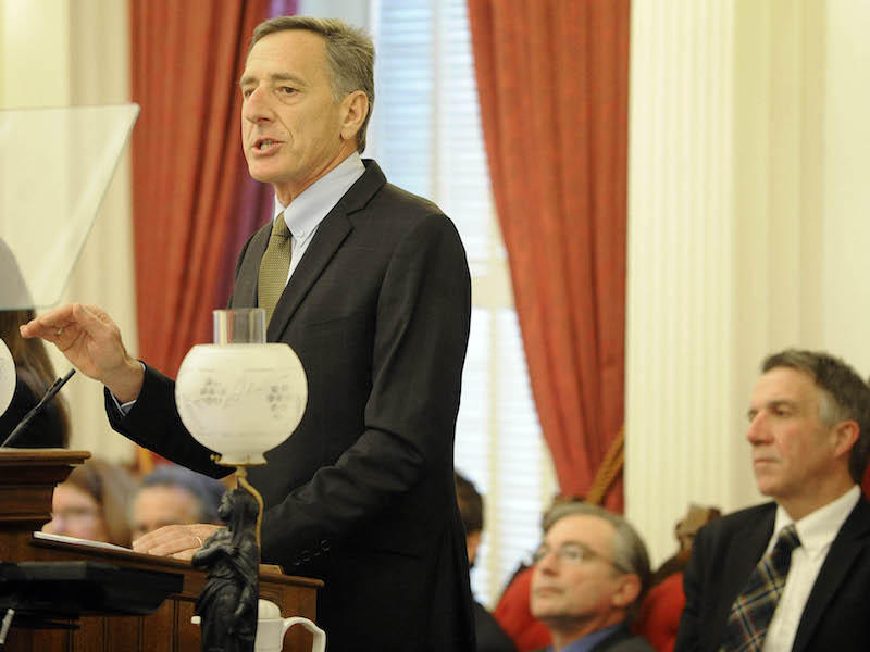 On Thursday, Gov. Peter Shumlin delivered his final budget proposal to the Legislature.