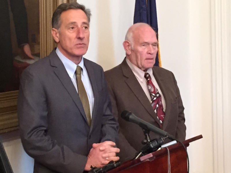"Gov. Peter Shumlin and Senate Judiciary Chairman Dick Sears announced Thursday they would support a bill to ""cautiously and deliberately"" legalize recreational marijuana in Vermont."