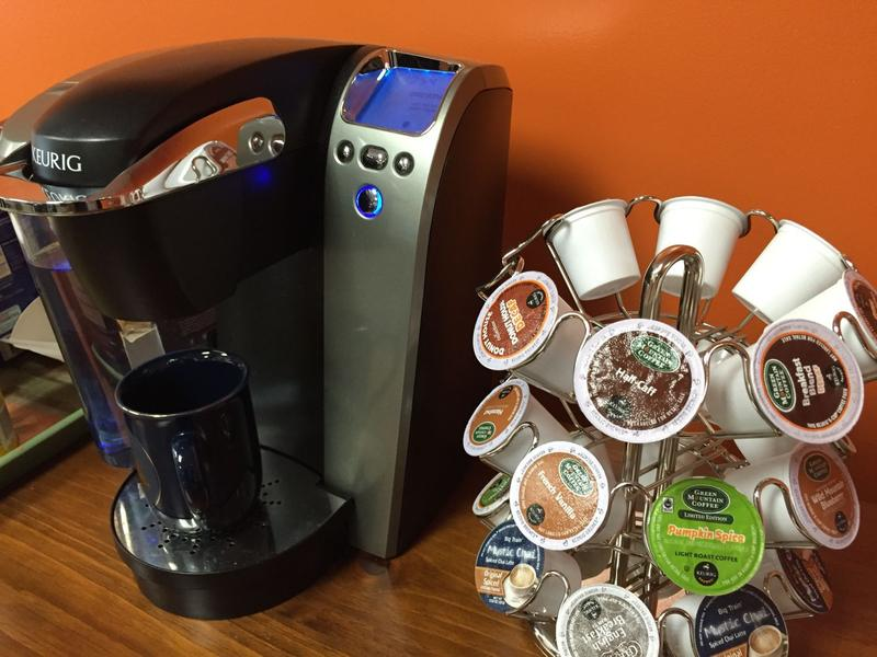 Keurig has pledged to make all K-Cups recyclable by 2020. To be successful, they not only have to find a suitable material, but must address how their small size makes them difficult to sort at recycling facilities.