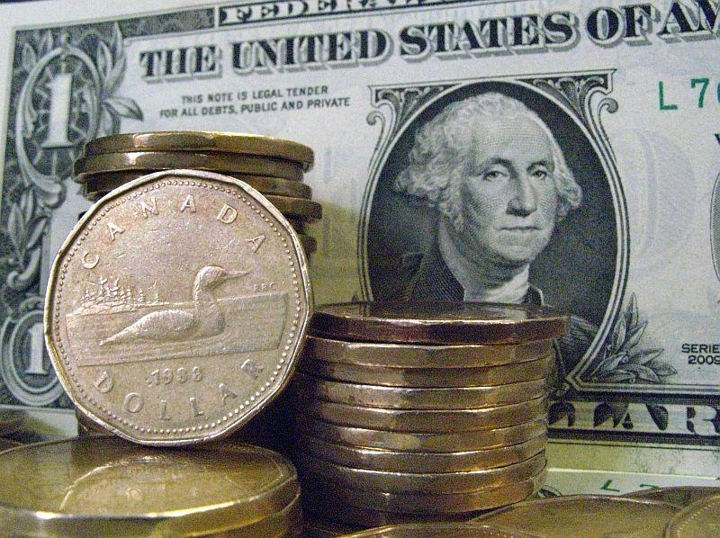 The Canadian loonie is hovering around 70 cents against the American dollar.