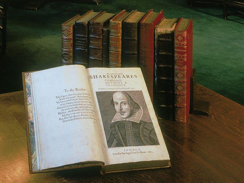 Shakespeare's First Folio will be on display at Middlebury College for the month of February.
