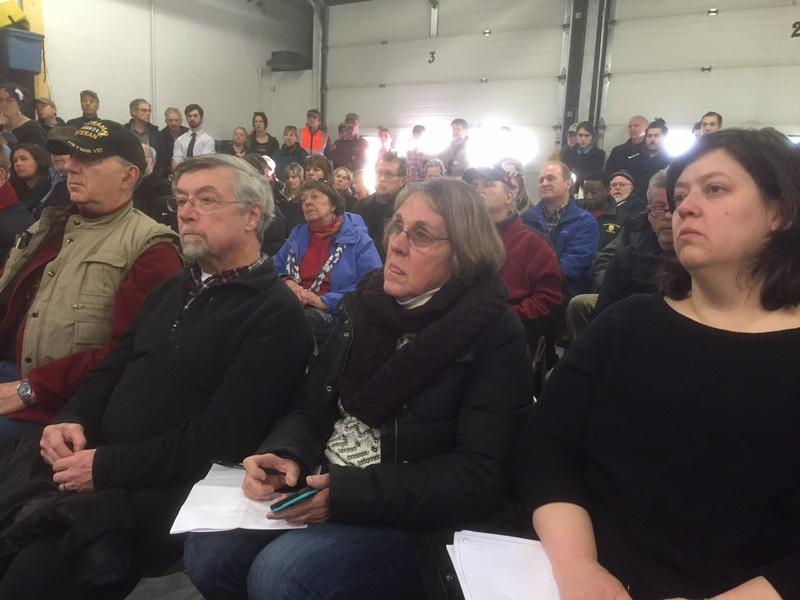 More than 150 people attended a meeting last week to learn more about the potential extent of the contamination of wells in North Bennington.