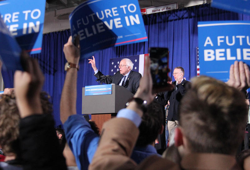 Shattering even his own campaign's expectations, Sen. Bernie Sanders has raised $7.4 million since the New Hampshire primary.