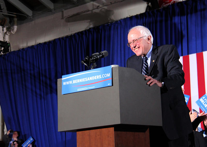 Democratic presidential candidate Sen. Bernie Sanders, I-Vt., won the New Hampshire primary by a hefty margin.