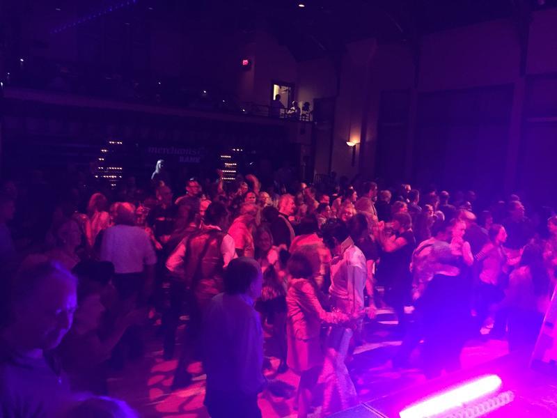 The dance floor at VPR-A-Go-Go