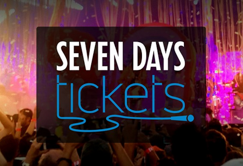 The Burlington-area alt-weekly newspaper and website has launched a ticket sales site called Seven Days Tickets. The site is free for event producers and sells tickets to events across the region.