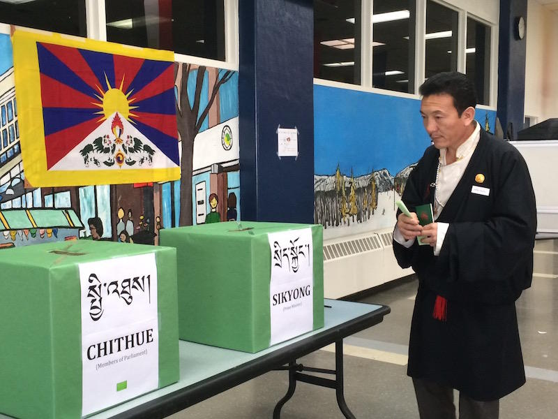 Kalsang Gangjong Gesar Tsang isn't the most conventional Parliamentary candidate. Exiled in Vermont, he's running to represent North America in the exiled Tibetan Parliament.