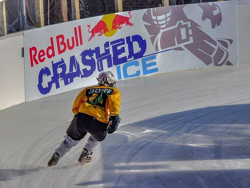 Lex Jackson of Shelburne is ranked third in the world in ice cross downhill.
