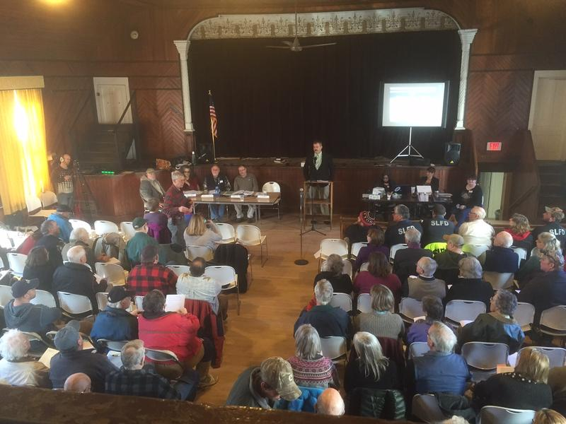 At Town Meeting Day on March 1, Londonderry voted 95-67 to sign a contract with the Vermont State Police to fight drug crime.