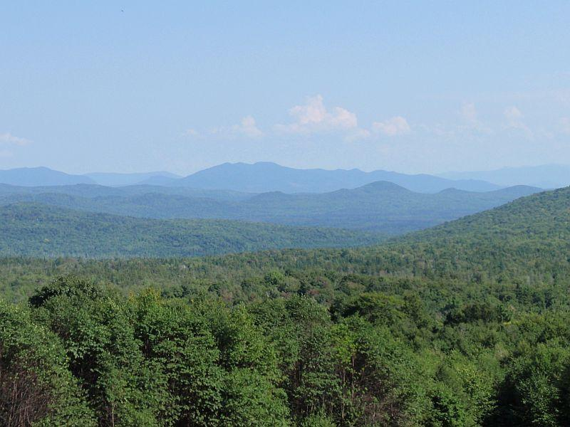 Vermont forests cover about 3/4 of the state's acreage.