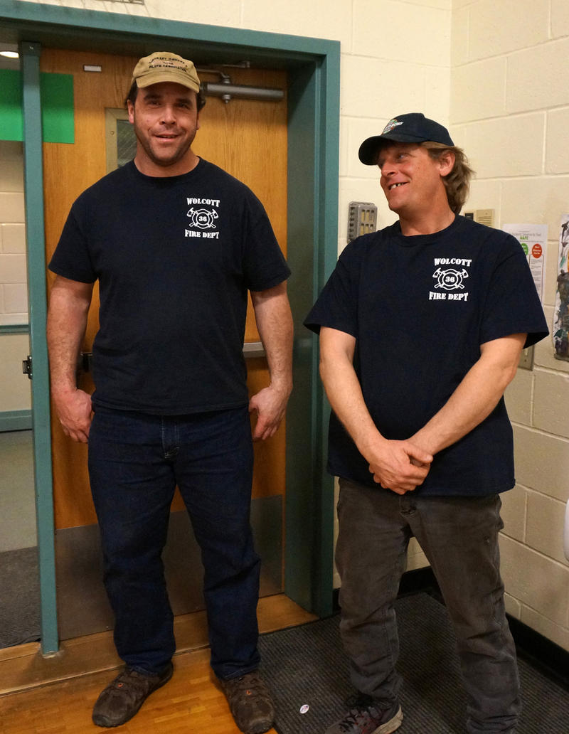 The Wolcott Volunteer Fire Department was well represented at the town's meeting. The department is asking voters to pay for a new firetruck. There was no discussion about the fact that the department's former bookkeeper is accused of embezzlement.