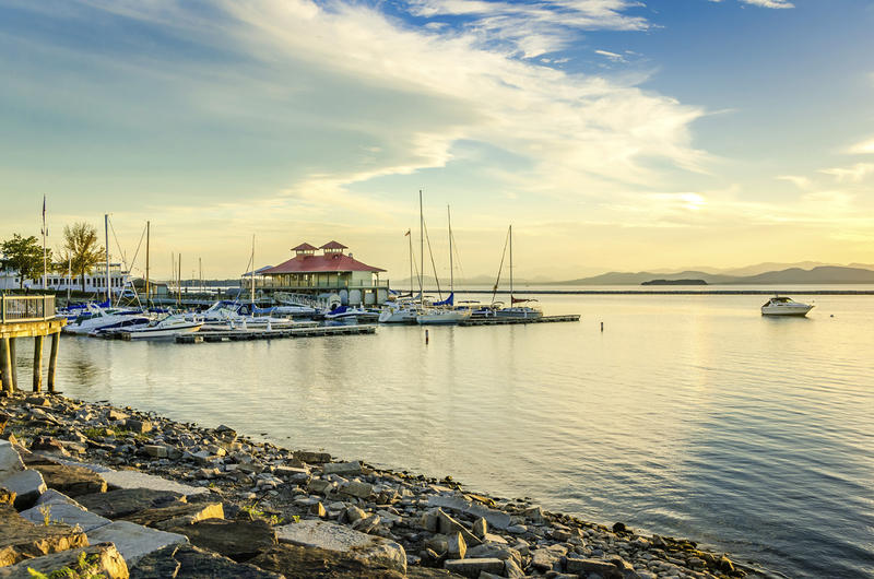 The Burlington Waterfront was Vermont's first TIF district. It was created in 1996, prior to the statewide education property tax.