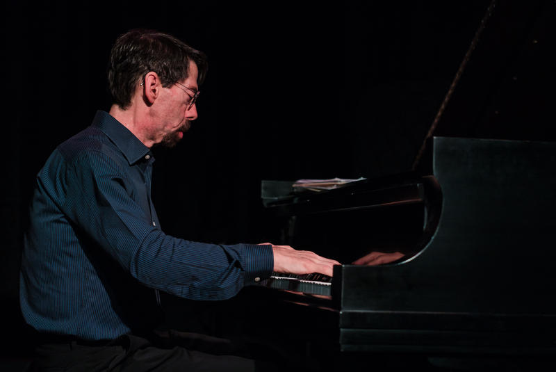 Fred Hersch was the first artist to give a concert using the Vermont Jazz Center's new Steinway D grand piano.