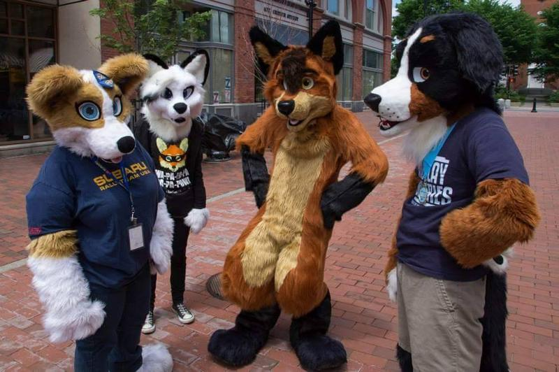 Members of the group Vermont Furs haven't been allowed to visit Burlington in costume recently due to the city's anti-mask ordinance, so they wrote a letter to the city council.