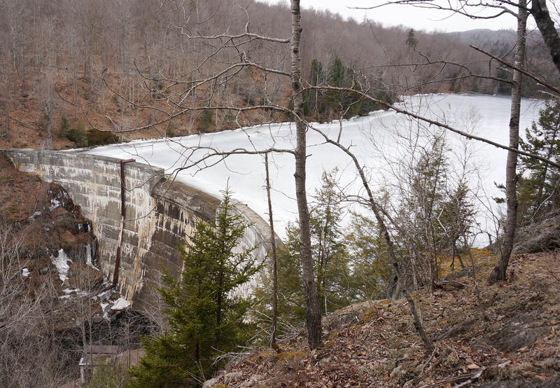 The hydroelectric dam at Green River Reservoir is undergoing federal relicensing, but Morrisville Water & Light says proposed restrictions might force the utility to discontinue its use.