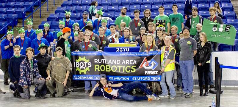 The Rutland Area Robotics Team 2370, also known as the Ibots, will compete at the FIRST Championship in St. Louis this week. The international robotics competition will include 900 teams from 39 countries.