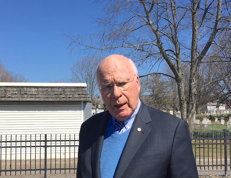 In Essex Junction Friday, Sen. Patrick Leahy reiterated his calls for reform in the controversial federal EB-5 foreign investment program.