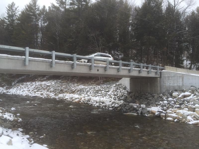 The Goodaleville Road Bridge in Jamaica has re-opened, more than four years after Tropical Storm Irene ripped it out. There are still about 30 unfinished Irene-related projects around the state.