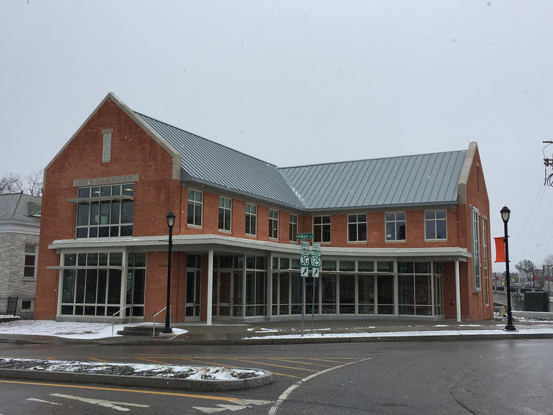 Middlebury's new town offices and recreation center cost $7 million. The town office opened on Monday; the rec center, located outside of town, opened in March.